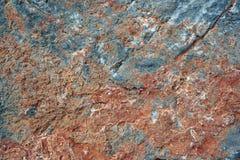 Szczegół struktura skała Agios Nikolaos obrazy royalty free
