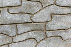 Szczegół szara betonowa ściana Obrazy Stock