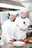 Szczegół szef kuchni przy pracą Obraz Royalty Free