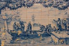 Szczegół tradycyjne płytki od fasad Zdjęcia Royalty Free