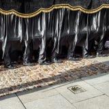 Szczegół tradycyjny Hiszpański Świętego tygodnia korowód Zdjęcie Royalty Free
