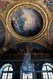 Szczegół w wielkiej hali sala balowej w Versailles obraz stock