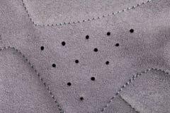 Szczegół wentylacji dziury cyklista rękawiczka obrazy stock
