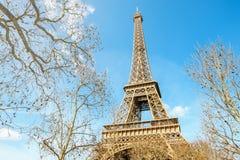 Szczegół wieża eifla Paryż Obraz Royalty Free
