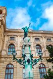 Szczegół Wiedeń krajowa historia muzeum sztuki Wiedeń Austria Obrazy Royalty Free