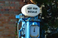Szczegół wierzchołek benzynowa pompa Zdjęcia Stock