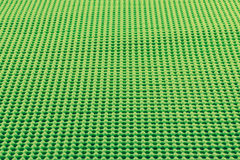 Szczegół zieleń textured non uślizg matę Obrazy Stock