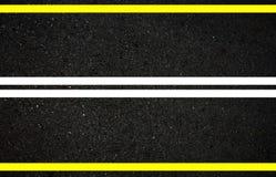 szczegółowe dane dotyczące tworzenia asfalt drogi square ramy dla personelu Obraz Stock