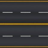 szczegółowe dane dotyczące tworzenia asfalt drogi square ramy dla personelu ilustracji
