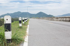szczegółowe dane dotyczące tworzenia asfalt drogi square ramy dla personelu Fotografia Royalty Free
