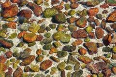 szczegółowe prawdziwe tło bardzo kamień Obrazy Stock