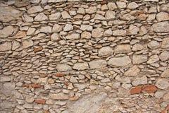 szczegółowe prawdziwe tło bardzo kamień Tło od Wielkich kamieni Beżowy Pusty tło dla Twój projekta, wzory, wzory zdjęcia stock