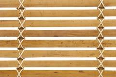 Szczegółowy drewniany żaluzja wzór obrazy royalty free