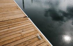 Szczegółowy widok z jetty widzieć w USA schronieniu szalunku przejścia i Obraz Stock