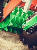 Szczegółowy zbliżenie dysk brony rolnicza maszyneria Obraz Stock
