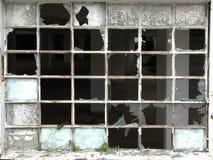 szczegółu łamany okno zdjęcia royalty free