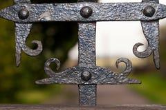 szczegółu bramy żelazo dokonany Zdjęcia Stock