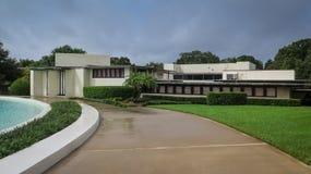 Szczegółu Frank Lloyd Wright Lakeland szkoła wyższa Floryda Południowy zdjęcie stock