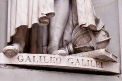 szczegółu Galileo rzeźba Zdjęcie Stock
