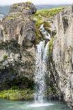 Szczegółu Godafoos siklawa, Iceland Zdjęcia Royalty Free