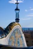szczegółu guell ix parc część Zdjęcie Royalty Free