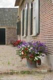 Szczegółu holendera dom wiejski zdjęcia royalty free