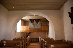 szczegółu kościelny ślub Zdjęcie Stock