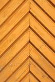 szczegółu kolor żółty drzwiowy drewniany Zdjęcie Stock