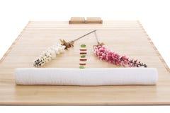 szczegółu masaż przygotowywający ustawianie Fotografia Stock