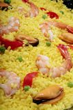 szczegółu paella zdjęcie stock