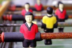 szczegółu piłki nożnej stół Zdjęcie Stock