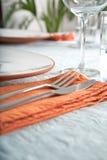 szczegółu serviette Fotografia Stock