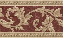 szczegółu tekstylna rocznika tapeta Zdjęcia Stock