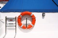 szczegóły łodzi Fotografia Royalty Free