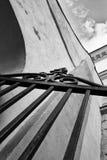 Szczegóły łuk z rozpieczętowaną bramą w postaci strzała Fotografia Royalty Free