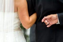 Szczegóły ślub Zdjęcie Royalty Free
