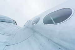 Szczegóły śmigłowy samolot Obraz Stock