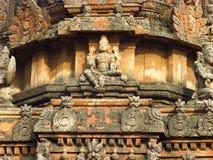 Szczegóły świątynia w Hampi obrazy royalty free