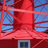 Szczegóły Adelaide historyczna latarnia morska zdjęcia stock
