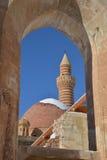 Szczegóły antyczny Ishak Pasha pałac Obrazy Royalty Free