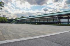 Szczegóły Cesarski pałac W Tokio Japonia zdjęcie stock