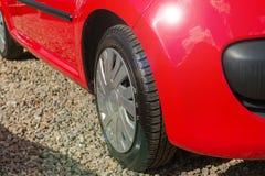 szczegóły czerwony samochód Obrazy Royalty Free