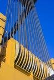 szczegóły dźwigu Mobil Fotografia Stock