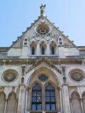 Szczegóły fasada Królewscy sądy Popierają fotografia royalty free