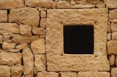 szczegóły kamienną ścianę Fotografia Royalty Free