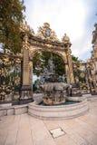 Szczegóły miasto kwadrat w Nancy z swój złotym fo i ogrodzeniem Obraz Stock