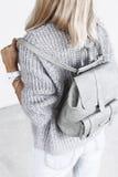Szczegóły minimalistic moda strój zdjęcia stock