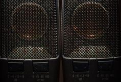 Szczegóły Nowożytny Kondensatorowy mikrofon Zdjęcie Stock