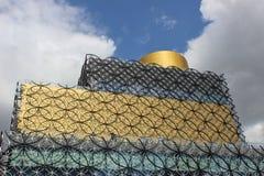 Szczegóły ofLibrary Birmingham górna część Zdjęcie Royalty Free