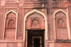 Szczegóły pałac, Agra fort, India Obrazy Stock
